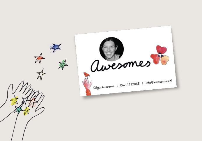Svenny - visitekaartje - Awesomes