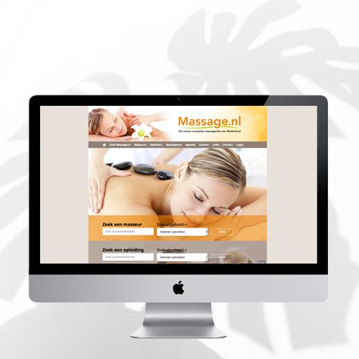 Svenny website massage.nl