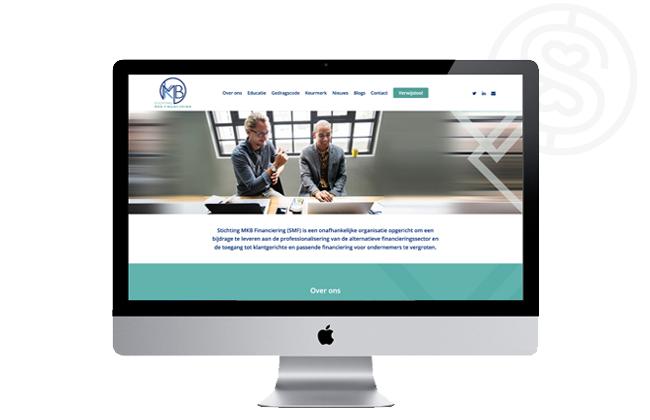 Svenny - Webdesign - Stichting MKB Financiering