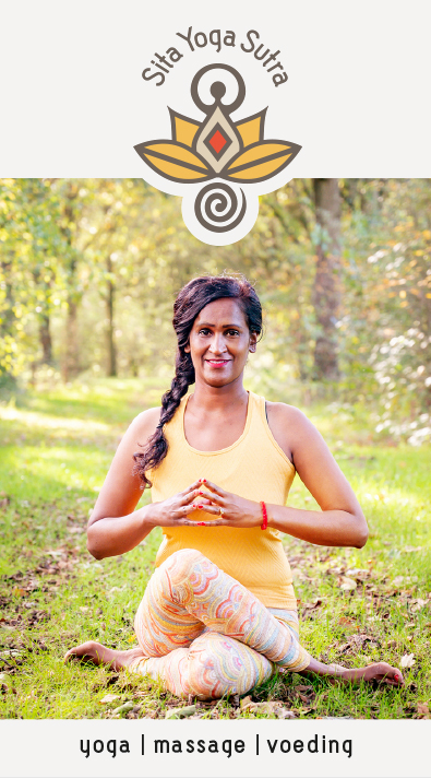 Visitekaartje Sita Yoga Sutra